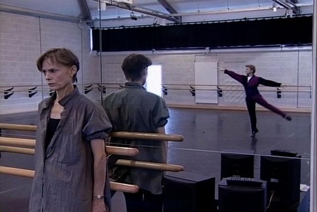 Lucinda with Mikhail Baryshnikov